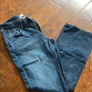 Men's gap bootcut jeans 34x36